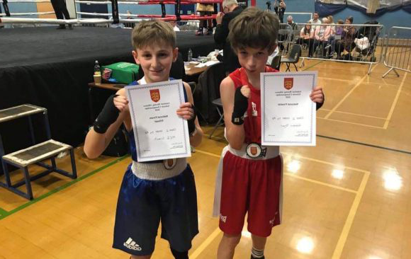 English Schools Boxing Champion 2020