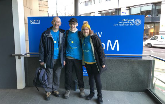 Moorfields Hospital Trek